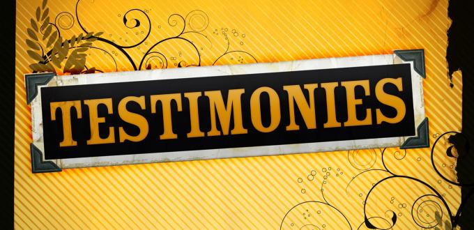 testimonies christian counseling